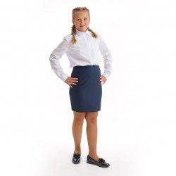 Юбка для девочек старшей школьной группы Модница 219015И