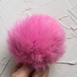 Розовый кролик 8-10 см