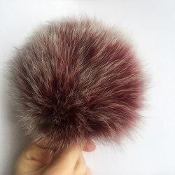 Снежный бургунди песец 13-15 см