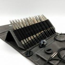 Набор укороченных спиц 7 см Black Driftwood LYKKE