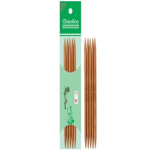 Чулочные бамбуковые спицы ChiaoGoo 15 см