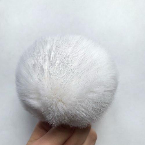 Меховые помпоны из меха кролика 7-8 см