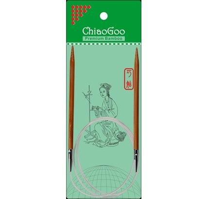 Спицы ChiaoGoo 80 см бамбук
