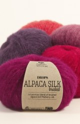 Brushed Alpaca Silk Drops