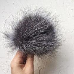 Чернобурка короткая шерсть 14-16 см