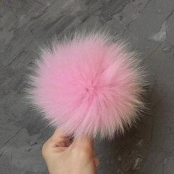 Розовый песец 15-18 см