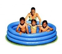 Детский надувной бассейн Intex Crystal Blue 147х33 (58426)