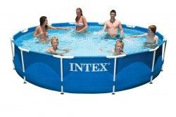 Каркасный бассейн Intex Metal Frame 366х76 (56994/28210)