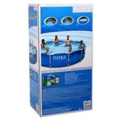 Каркасный бассейн Intex Metal Frame 366х76 (56996/28212) + фильтр-насос
