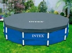 Тент-чехол для каркасного бассейна Intex (58411/28031) 366см