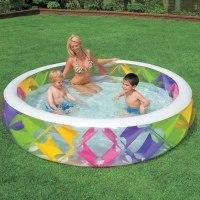 Надувной бассейн Intex Swim Center Pinwheel 229х56 (56494)