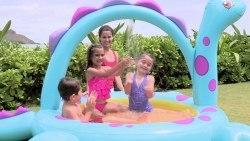 Надувной бассейн Intex игровой центр Dinoland (57135)