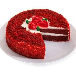 Ассорти пирожных (медовый, красный бархат, шоколадный) Асату 700 гр.