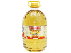 Масло подсолнечное рафинированное Шедевр 5 литров