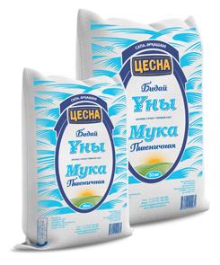 Мука пшеничная в/с Цесна 5, 10, 25, 50 кг