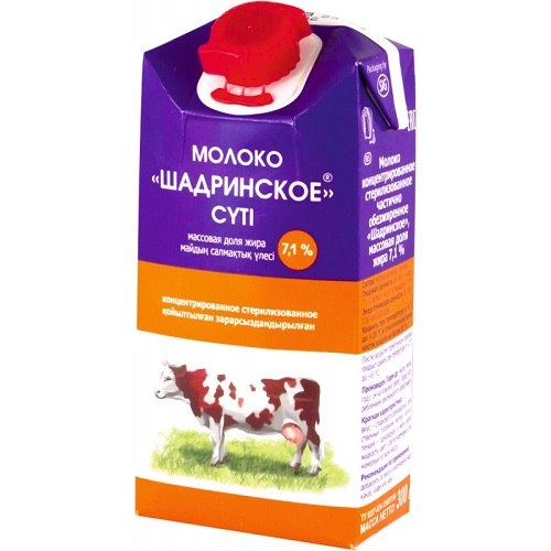 Молоко концентрированное Шадринское тетрапакет 300 мл