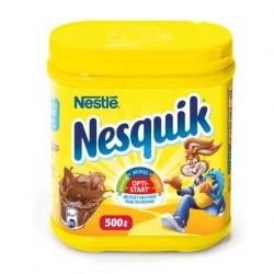 Какао Nestle Nesquik 250, 500 гр.