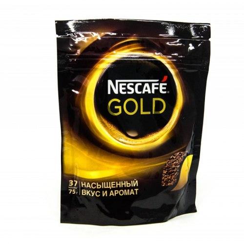 Кофе Gold эконом упаковка Nescafe 40, 75, 95, 190, 250 грамм упаковка