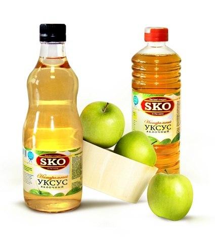 Яблочный уксус 6% Сибирский уксус 250 грамм