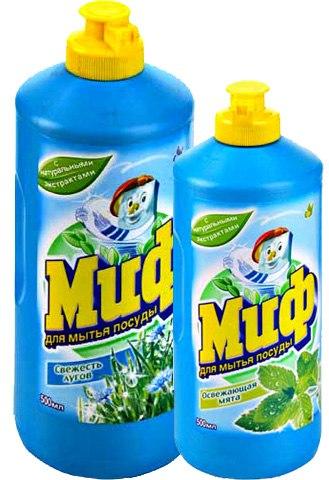 Моющее средство Миф