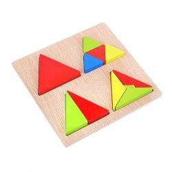 """Рамка-вкладыш """"Дроби Треугольники"""""""