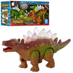 Динозавр Стегозаврик на батарейках