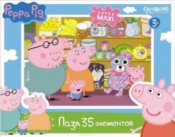 Макси Пазлы для малышей Peppa Pig Магазин игрушек. 35 элементов. Origami