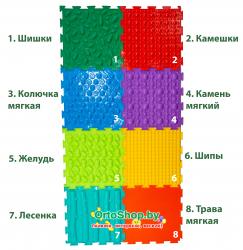 """Коврик """"ОРТО"""" Микс 8 пазлов """"Малыш"""" Ортодон + подарок"""