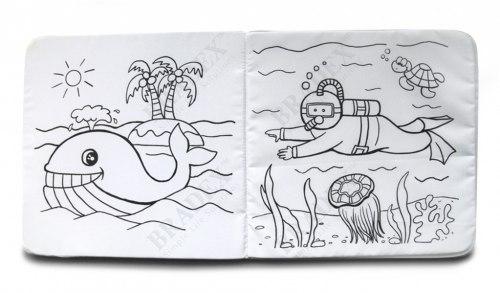 Раскраска книжки