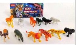 Набор диких животных (12 штук)