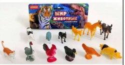 Набор домашних животных (12 штук)