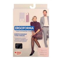 Компрессионные чулки для мужчин и женщин Ergoforma EU216 с открытым носом 1 класса компрессии Ergoforma EU216м