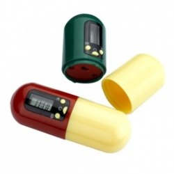 Контейнер для таблеток с таймером «НАПОМИНАТЕЛЬ» BRADEX KZ 0105
