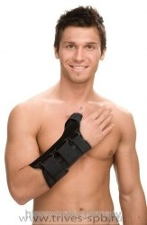 Бандаж на лучезапятный сустав с анатомическими шинами ТРИВЕС Т-8309