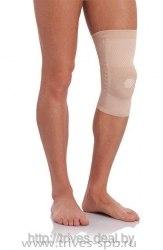 Бандаж на коленный сустав с ребрами жесткости и силикон. кольцом ТРИВЕС Т-8503