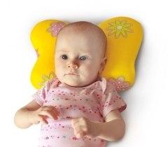 Подушка ортопедическая для новорожденных ПОЛЬЗА Подушка ортопедическая для новорожденных