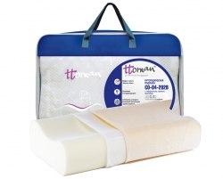 Подушка ортопедическая c эффектом памяти CO-04-202B Высота 14 см Экотен CO-04-202B