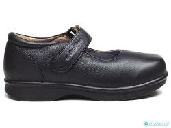Туфли женские для больных сахарным диабетом OT-022-Black Ortotitan OT-022-Black