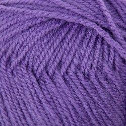 Детская новинка, цвет 567 темная фиалка ООО Пехорский текстиль 100% высокообъемный акрил, длина 200м в мотке