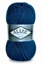 Alize Superlana Mazxi Alize 25 % шерсть, 75% акрил, длина в мотке 100 м.