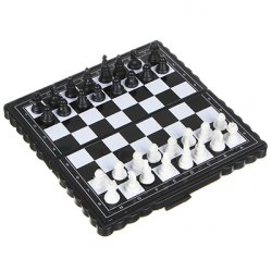 Шахматы магнитные дорожные. Пластик, металл размер 13х13