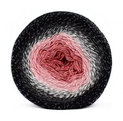 Yarn Art Flowers Moonlight цвет 3260 Yarn Art 53% хлопок, 43% полиакрил, 4% металлик, длина в мотке 1000 м.