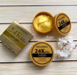 Патчи для век 24К GOLD COLLAGEN с Золотом 24К 60 штук от Guanjing