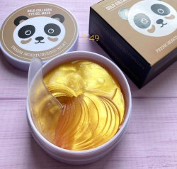 Гидрогелевые патчи Gold Collagen eye mask