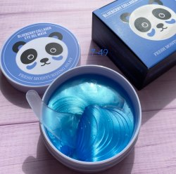 Гидрогелевые патчи Blueberry Collagen Eye Gel Mask