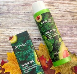 BIOAQUA Niacinome Avocado Toner Тонер подтягивающий кожу с никотинамидом и экстрактом авокадо 200мл