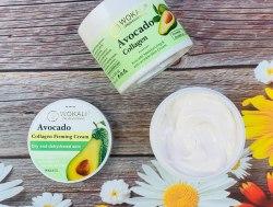 Крем для ухода за телом и лицом Avocado🥑 Collagen Firming Cream, 115 гр.