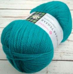 Пехорка Ангорская теплая цвет 335 изумруд ООО Пехорский текстиль 40% шерсть, 60% акрил, длина 480м в мотке
