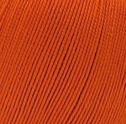 Пехорка Ажурная, цвет 189 ярко оранжевый ООО Пехорский текстиль 100 % мерсеризованный , длина в мотке 280 м.