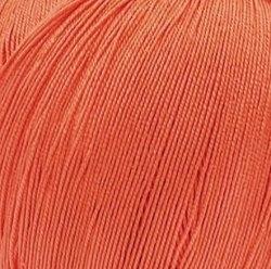 Пехорка Цветное кружево 396 настурция ООО Пехорский текстиль 100% мерсеризированный хлопок, длина в мотке 475 м.